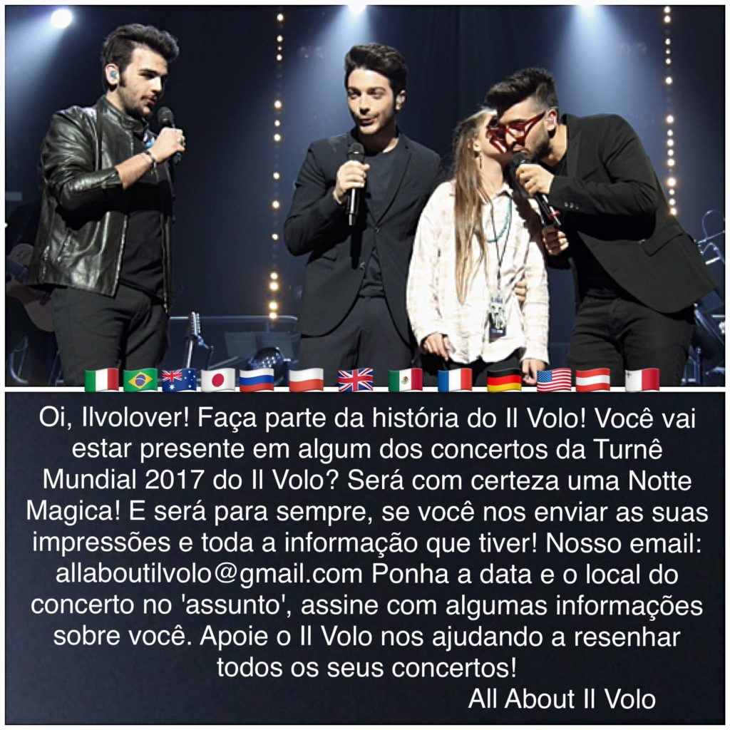 Il Volo World Tour invite
