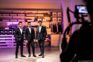 Il Volo Giessegi shooting April 8 2017