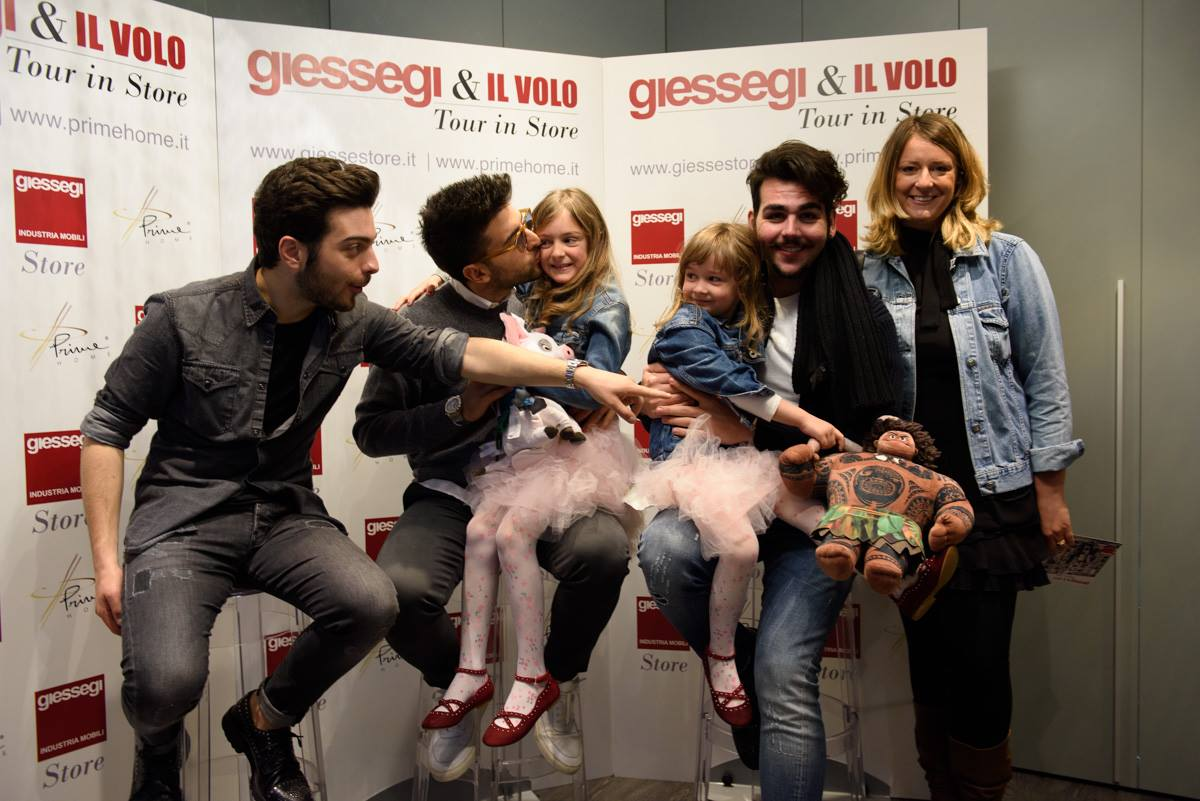 All about il volo for Giessegi bologna