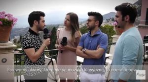 Il Volo - Prestige MJM interview