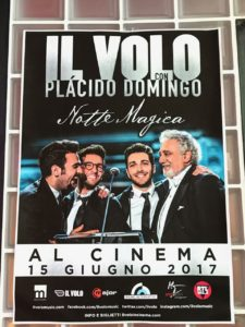 Il Volo in the cinema Fran-Jo-Gaby - June 15 2017