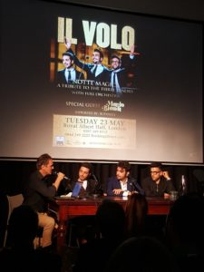 Il Volo a Londra - Italian Cultural Institute - 22may2017