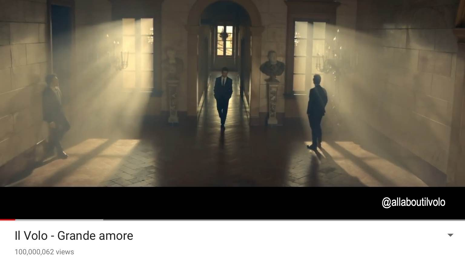 Grande Amore 100 million views