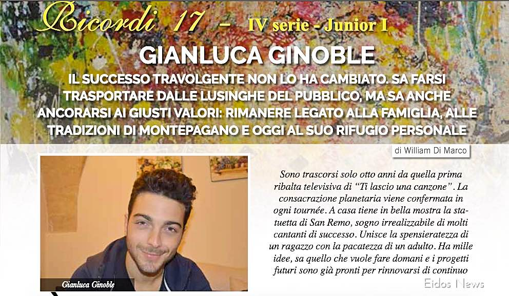 Gianluca - Eidos News December 2017