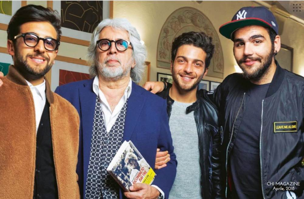 Il Volo and Michele Torpedine - Chi Magazine